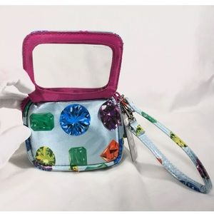 TransVersion by LOOP Small Mirrored Wristlet Purse